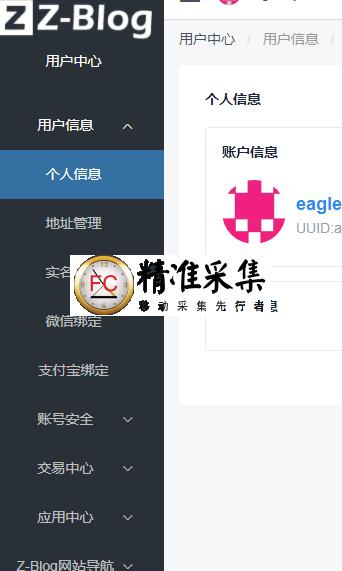 zblog应用中心购买主题插件,无法付款,总是跳转到 个人信息页面,属于官方备案调整,预计一周左右  第8张
